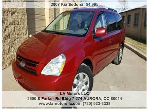 2007 Kia Sedona for sale in Aurora, CO