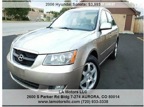2006 Hyundai Sonata for sale in Aurora, CO