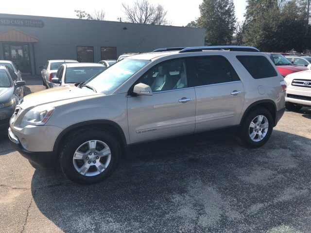 Jones Buick Sumter >> Used GMC Acadia For Sale in Sumter, SC - Carsforsale.com