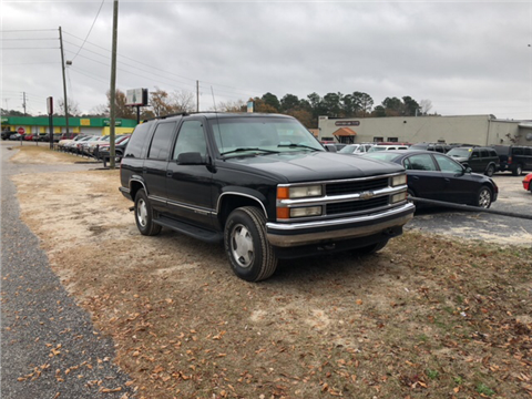 1999 Chevrolet Tahoe For Sale In Sumter SC
