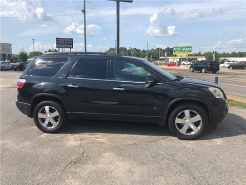 2010 GMC Acadia for sale in Sumter, SC