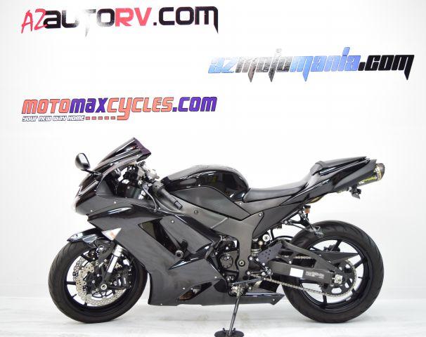 2008 Kawasaki ZX600P8F Ninja ZX-6R