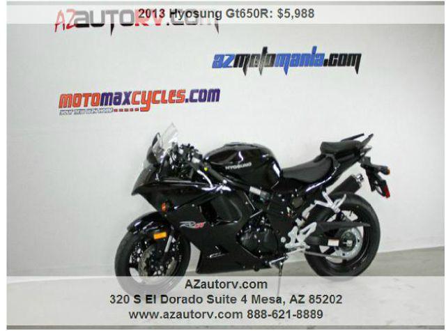 2013 Hyosung Gt650R