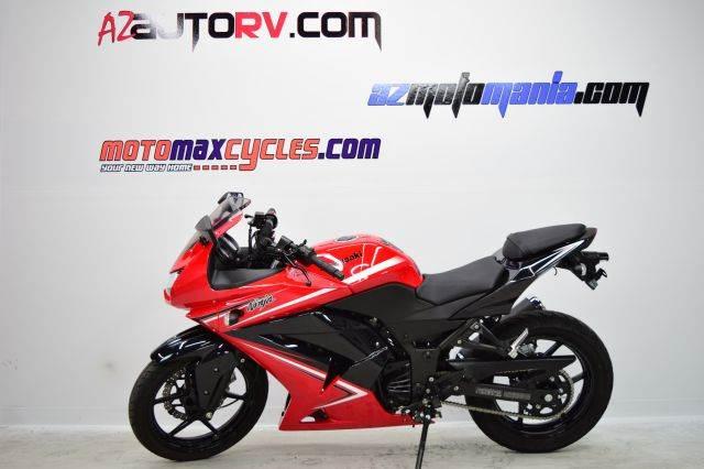 2012 Kawasaki EX250JCF Ninja 250R