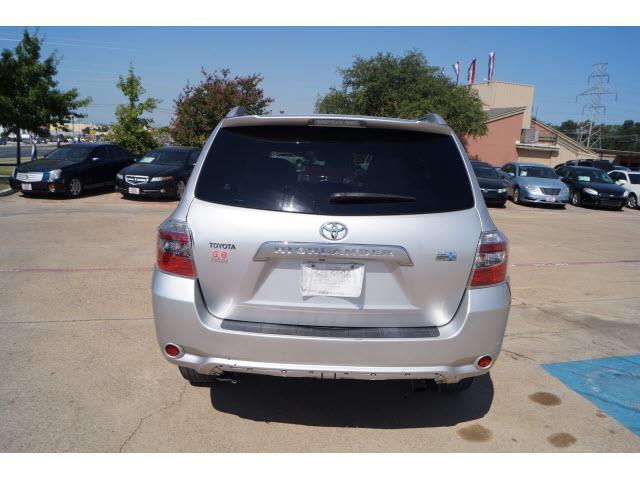 Toyota Highlander Hybrid Base AWD Dr SUV In Fort Worth TX - 2008 highlander hybrid