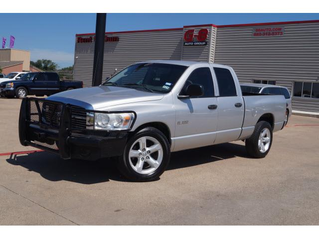 2008 dodge ram pickup 1500 lone star in amarillo tx g8 for Lone star motors fort worth tx