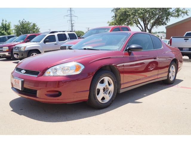 2006 chevrolet monte carlo lt 2dr coupe w 1lt in amarillo. Black Bedroom Furniture Sets. Home Design Ideas