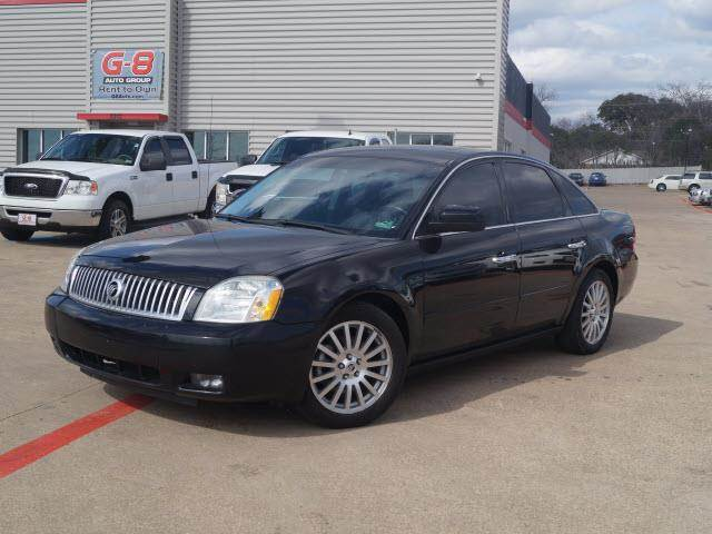 2006 mercury montego premier 4dr sedan fort worth tx. Black Bedroom Furniture Sets. Home Design Ideas