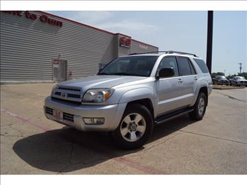 2004 Toyota 4Runner for sale in Fort Worth, TX