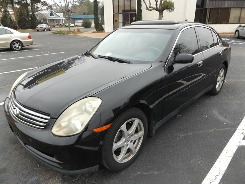 2004 infiniti g35 base awd 4dr sedan w leather in. Black Bedroom Furniture Sets. Home Design Ideas