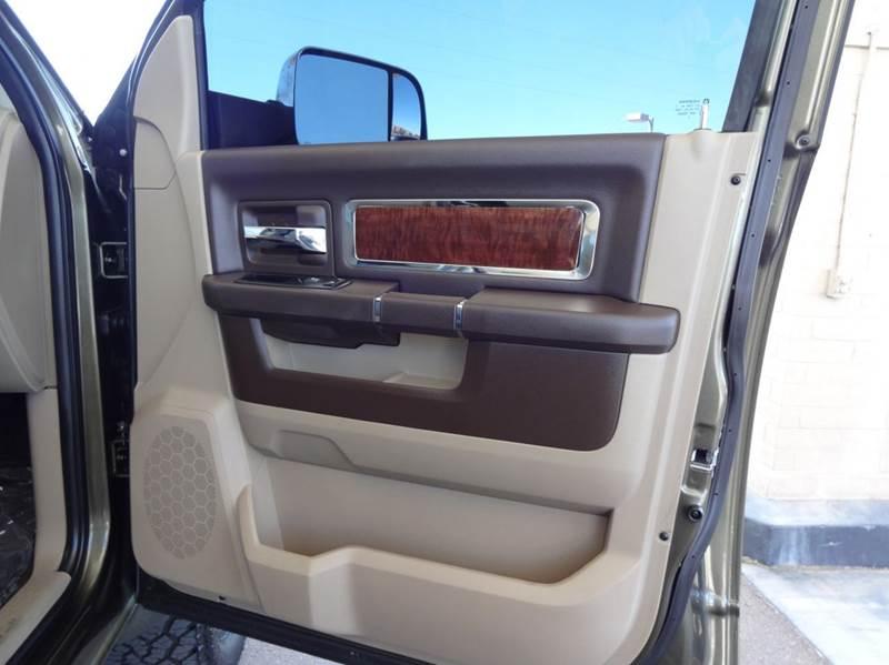 2012 RAM Ram Pickup 3500 Laramie 4x4 4dr Crew Cab 8 ft. LB Pickup - Tucson AZ
