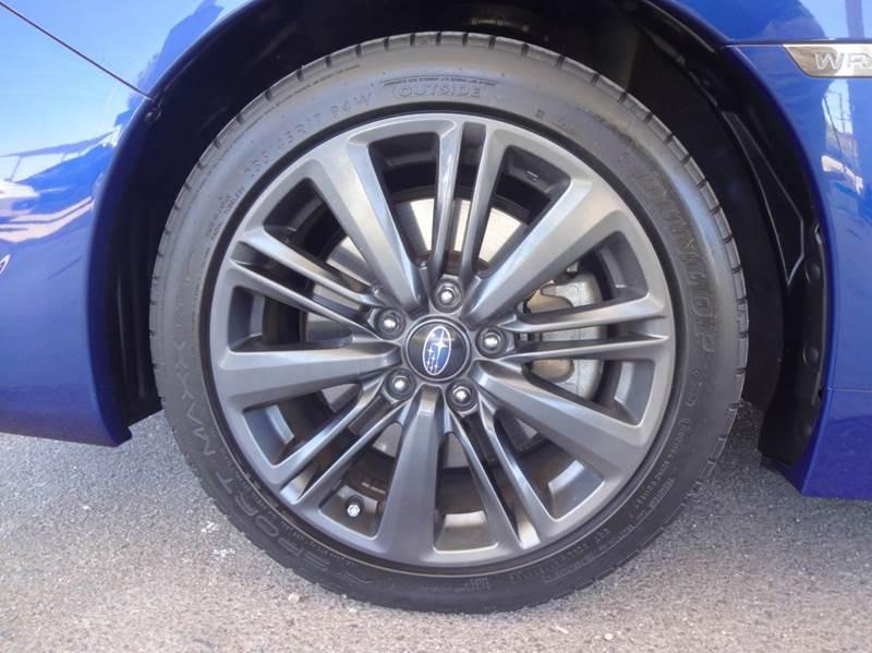 2015 Subaru WRX AWD 4dr Sedan - Tucson AZ