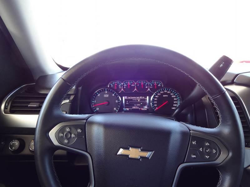 2015 Chevrolet Tahoe LT 4x4 4dr SUV - Tucson AZ