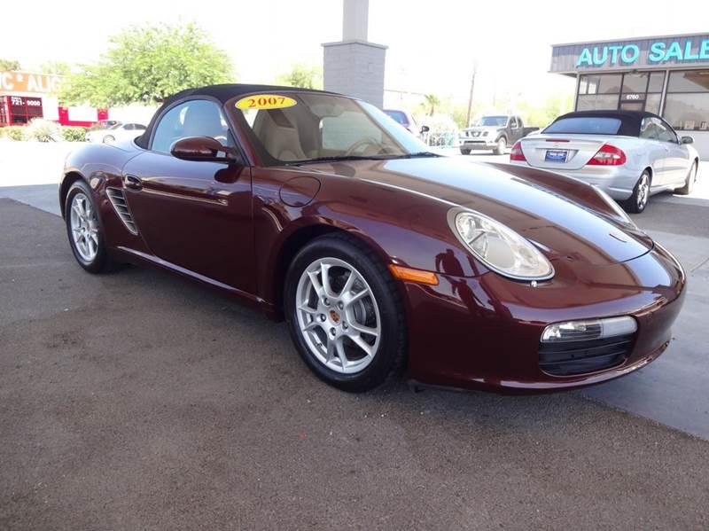 2007 Porsche Boxster Base 2dr Convertible - Tucson AZ
