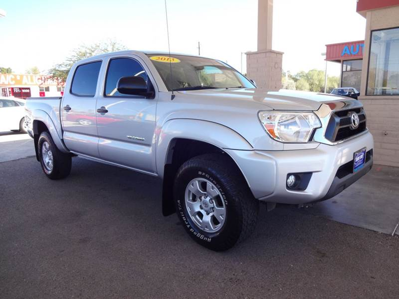 2013 toyota tacoma prerunner v6 4x2 4dr double cab 5 0 ft sb 5a in tucson az tanque verde motors. Black Bedroom Furniture Sets. Home Design Ideas