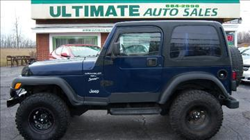 2000 Jeep Wrangler for sale in Depew, NY