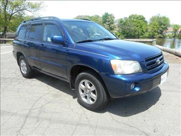 2004 Toyota Highlander for sale in Plainfield, NJ