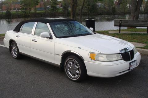 1998 lincoln town car for sale in new jersey. Black Bedroom Furniture Sets. Home Design Ideas