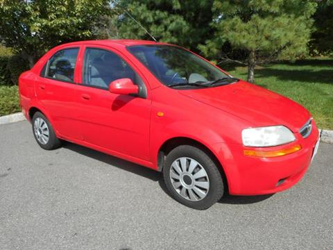 2004 Chevrolet Aveo for sale in Plainfield, NJ