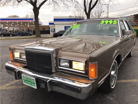 1989 Lincoln Town Car For Sale In Evansville In Carsforsale Com