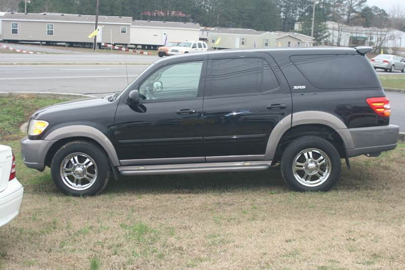 2002 toyota sequoia sr5 2wd 4dr suv in albertville al. Black Bedroom Furniture Sets. Home Design Ideas