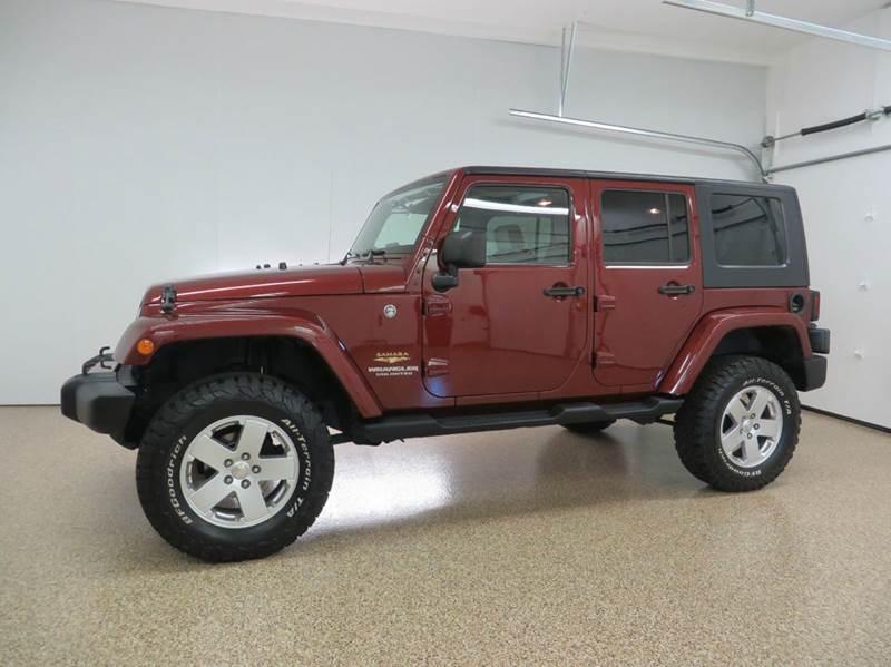 2008 jeep wrangler unlimited 4x4 sahara 4dr suv in hudsonville mi hts auto sales. Black Bedroom Furniture Sets. Home Design Ideas