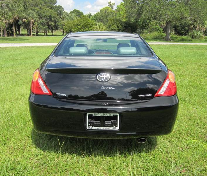 2004 Toyota Camry Solara SE V6 2dr Coupe - Deerfield Beach FL