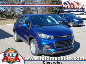 2017 Chevrolet Trax for sale in Highland, MI