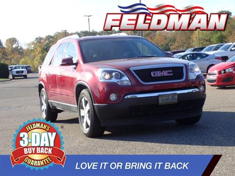 2011 GMC Acadia for sale in Highland, MI