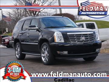 2012 cadillac escalade for sale michigan. Black Bedroom Furniture Sets. Home Design Ideas
