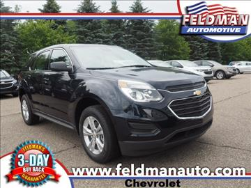 2017 Chevrolet Equinox for sale in Highland, MI