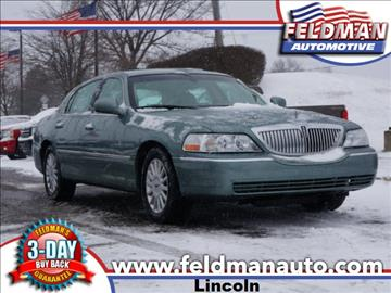 2005 Lincoln Town Car for sale in Highland, MI