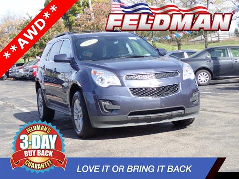 2013 Chevrolet Equinox for sale in Highland, MI