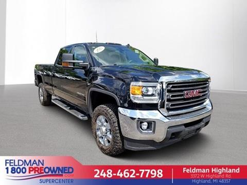 2017 GMC Sierra 2500HD for sale in Highland, MI
