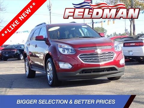 2016 Chevrolet Equinox for sale in Highland, MI