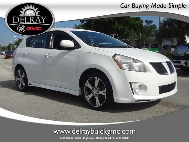 2009 Pontiac Vibe for sale in DELRAY BEACH FL