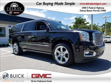 2016 GMC Yukon XL for sale in Delray Beach, FL