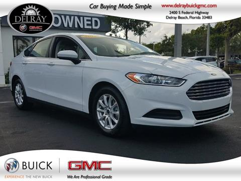 2015 Ford Fusion for sale in Delray Beach FL