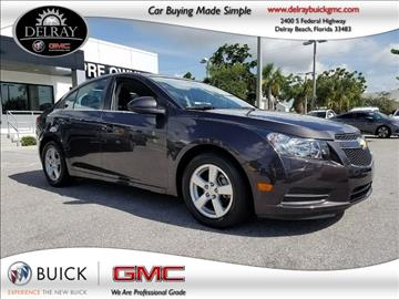 2014 Chevrolet Cruze for sale in Delray Beach, FL