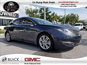 2014 Lincoln MKZ Hybrid for sale in Delray Beach, FL