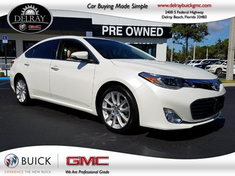 2014 Toyota Avalon for sale in Delray Beach, FL
