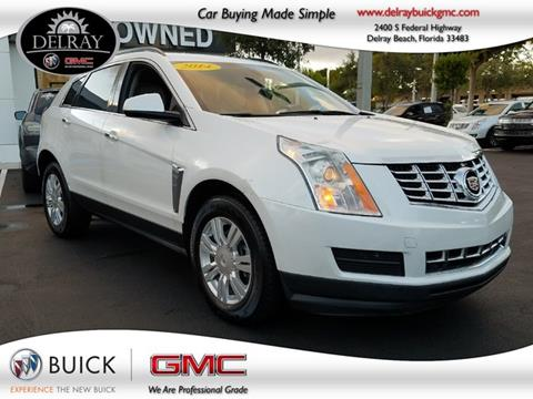 2014 Cadillac SRX for sale in Delray Beach FL