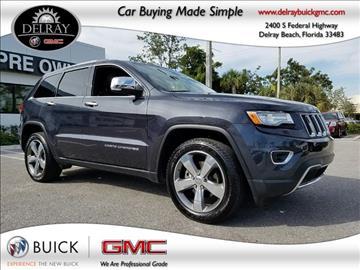 2015 Jeep Grand Cherokee for sale in Delray Beach, FL