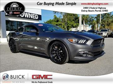 2016 Ford Mustang for sale in Delray Beach, FL
