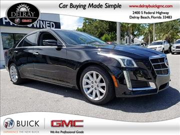 2014 Cadillac CTS for sale in Delray Beach, FL