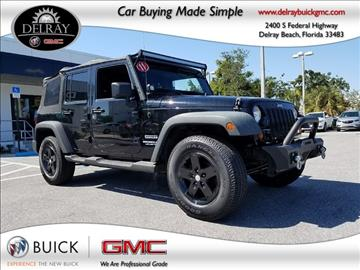 2011 Jeep Wrangler Unlimited for sale in Delray Beach, FL