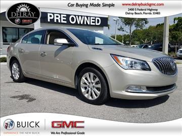 2014 Buick LaCrosse for sale in Delray Beach, FL