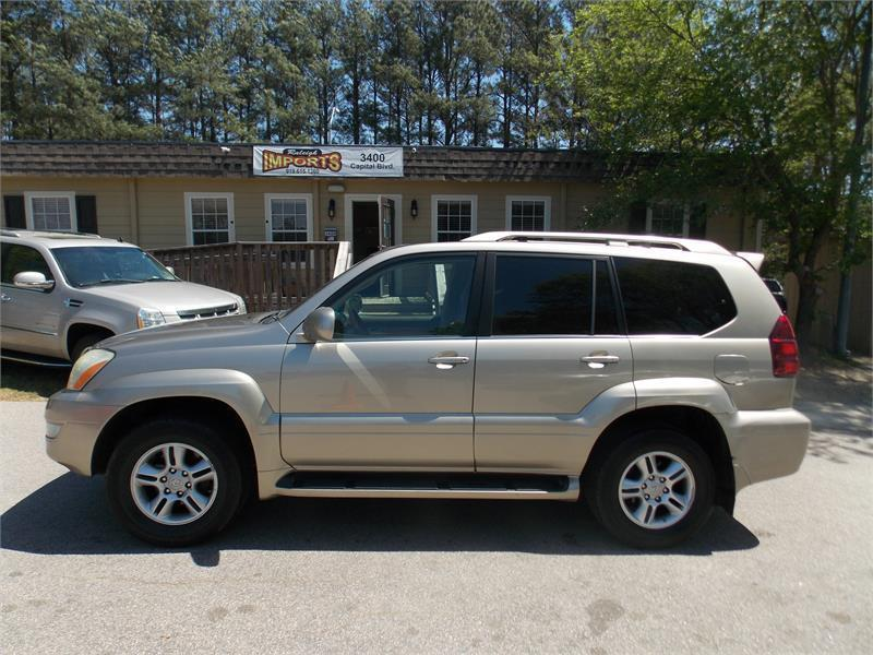 lexus gx 470 for sale in raleigh nc. Black Bedroom Furniture Sets. Home Design Ideas