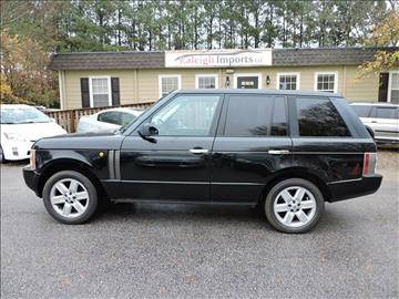 2004 Land Rover Range Rover for sale in Raleigh, NC