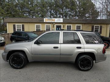 2003 Chevrolet TrailBlazer for sale in Raleigh, NC
